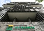 FILE PHOTO: The facade of the headquarters of Petroleo Brasileiro S.A. (PETROBRAS) is pictured in Rio de Janeiro, Brazil December 9, 2019. REUTERS/Sergio Moraes/File Photo
